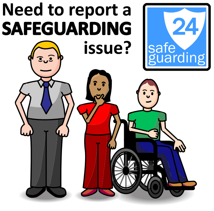 need to report a safeguarding issue?